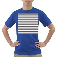 Basic Horizontal Stripes Dark T Shirt