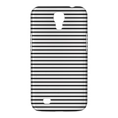 Basic Horizontal Stripes Samsung Galaxy Mega 6 3  I9200 Hardshell Case