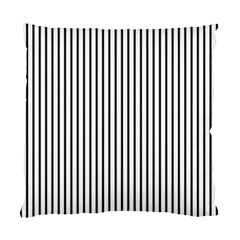 Basic Vertical Stripes Standard Cushion Case (two Sides)