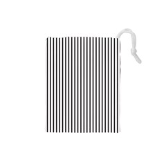 Basic Vertical Stripes Drawstring Pouches (small)