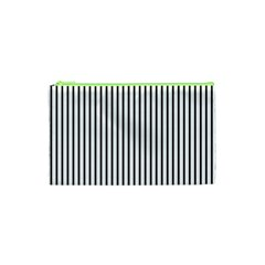 Basic Vertical Stripes Cosmetic Bag (xs)