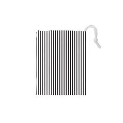 Basic Vertical Stripes Drawstring Pouches (xs)