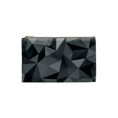 Geometric Doodle Cosmetic Bag (small)