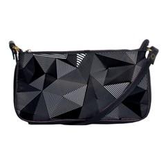Geometric Doodle Shoulder Clutch Bags