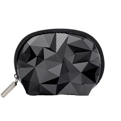 Geometric Doodle Accessory Pouches (small)