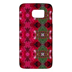 Christmas Colors Wrapping Paper Design Galaxy S6