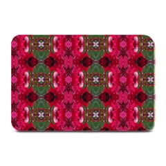 Christmas Colors Wrapping Paper Design Plate Mats