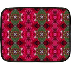 Christmas Colors Wrapping Paper Design Fleece Blanket (mini)