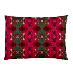 Christmas Colors Wrapping Paper Design Pillow Case (two Sides)