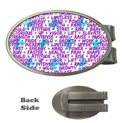 Hard Workout Money Clips (oval)