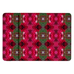 Christmas Colors Wrapping Paper Design Samsung Galaxy Tab 8 9  P7300 Flip Case