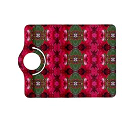 Christmas Colors Wrapping Paper Design Kindle Fire Hd (2013) Flip 360 Case