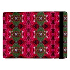 Christmas Colors Wrapping Paper Design Samsung Galaxy Tab Pro 12 2  Flip Case