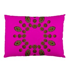 Sweet Hearts In  Decorative Metal Tinsel Pillow Case (two Sides)
