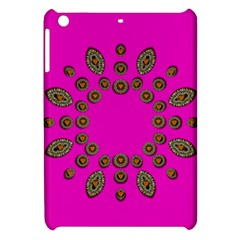 Sweet Hearts In  Decorative Metal Tinsel Apple Ipad Mini Hardshell Case