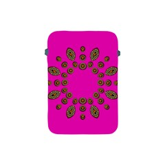Sweet Hearts In  Decorative Metal Tinsel Apple Ipad Mini Protective Soft Cases