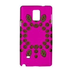 Sweet Hearts In  Decorative Metal Tinsel Samsung Galaxy Note 4 Hardshell Case