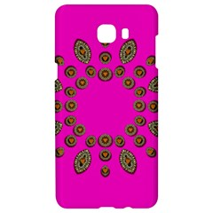 Sweet Hearts In  Decorative Metal Tinsel Samsung C9 Pro Hardshell Case