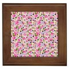 Gardenia Sweet Framed Tiles