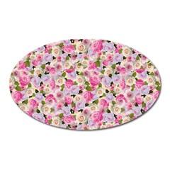 Gardenia Sweet Oval Magnet