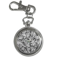 Fractal Sketch Light Key Chain Watches