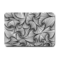 Fractal Sketch Light Small Doormat