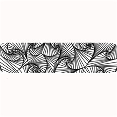 Fractal Sketch Light Large Bar Mats