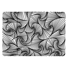 Fractal Sketch Light Samsung Galaxy Tab 10 1  P7500 Flip Case