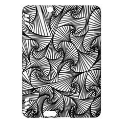 Fractal Sketch Light Kindle Fire Hdx Hardshell Case