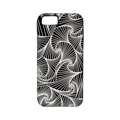 Fractal Sketch Dark Apple Iphone 5 Classic Hardshell Case (pc+silicone)