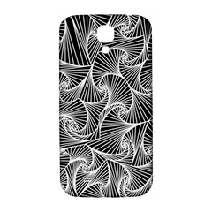 Fractal Sketch Dark Samsung Galaxy S4 I9500/i9505  Hardshell Back Case