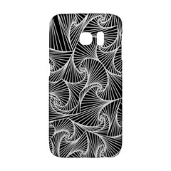 Fractal Sketch Dark Galaxy S6 Edge