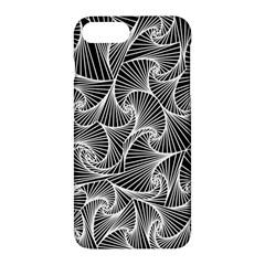 Fractal Sketch Dark Apple Iphone 7 Plus Hardshell Case