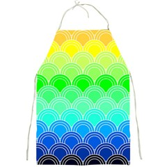 Art Deco Rain Bow Full Print Aprons