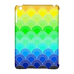 Art Deco Rain Bow Apple Ipad Mini Hardshell Case (compatible With Smart Cover)