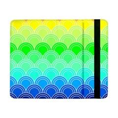 Art Deco Rain Bow Samsung Galaxy Tab Pro 8 4  Flip Case