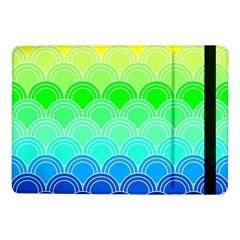 Art Deco Rain Bow Samsung Galaxy Tab Pro 10 1  Flip Case