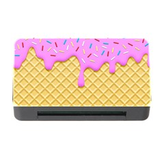 Strawberry Ice Cream Memory Card Reader With Cf
