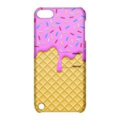 Strawberry Ice Cream Apple Ipod Touch 5 Hardshell Case With Stand