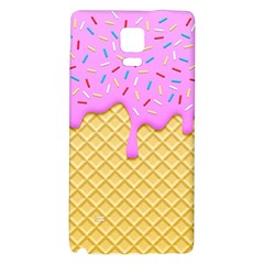 Strawberry Ice Cream Galaxy Note 4 Back Case