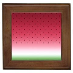 Watermelon Framed Tiles