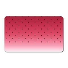 Watermelon Magnet (rectangular)