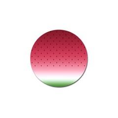 Watermelon Golf Ball Marker