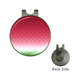 Watermelon Hat Clips With Golf Markers