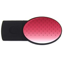 Watermelon Usb Flash Drive Oval (4 Gb)