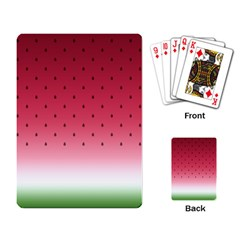 Watermelon Playing Card