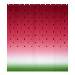 Watermelon Shower Curtain 66  X 72  (large)