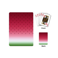 Watermelon Playing Cards (mini)