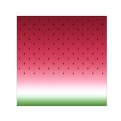Watermelon Small Satin Scarf (square)