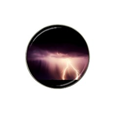 Storm Weather Lightning Bolt Hat Clip Ball Marker
